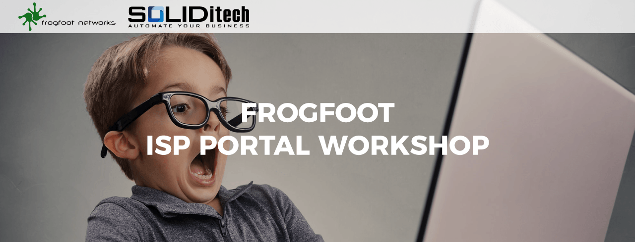 SOLIDitech Hosts Frogfoot ISP Portal Training Workshops
