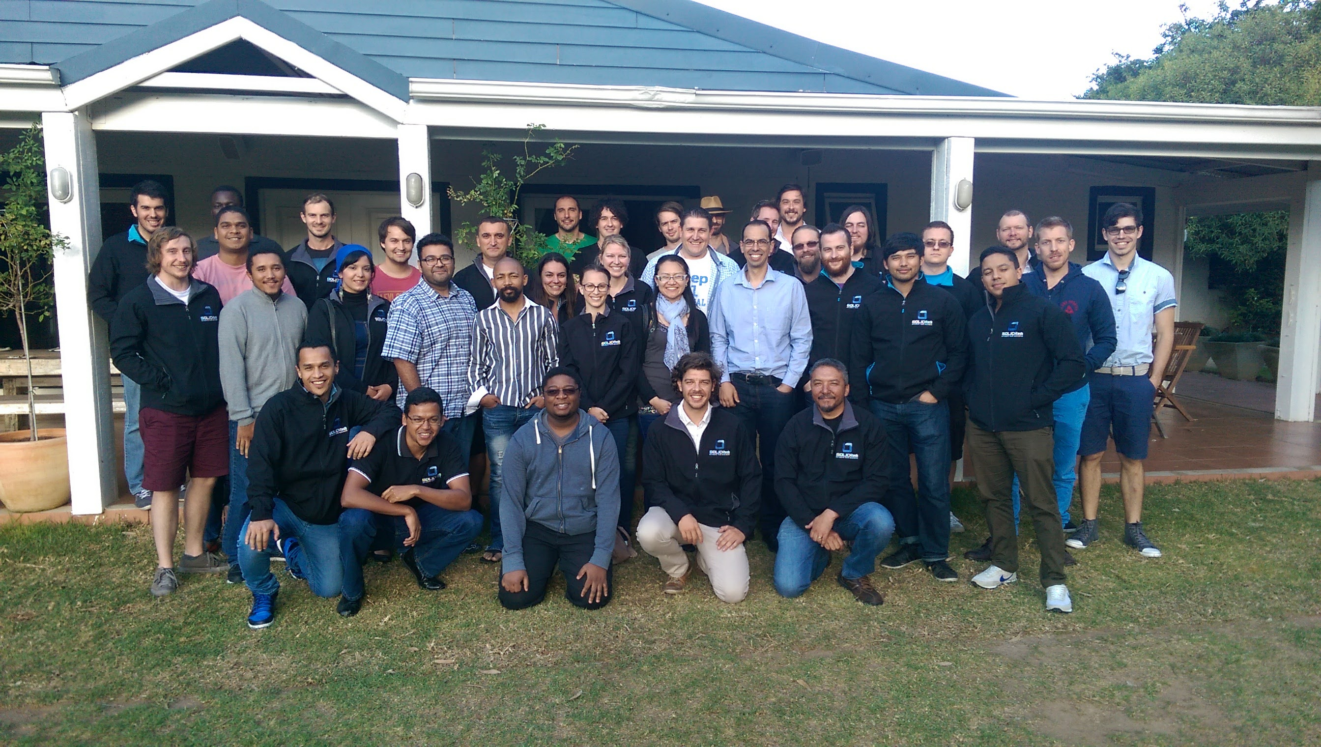 SOLIDitech Cape Town Office Team Photo