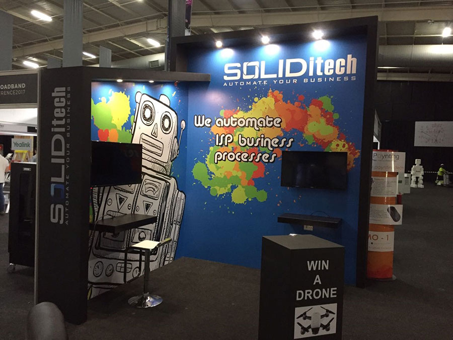 2017 Mybroadband Conference: SOLIDitech Stand