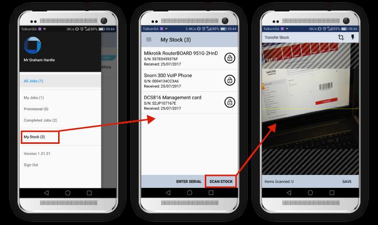 SOLID Mobile App Barcode Scanner