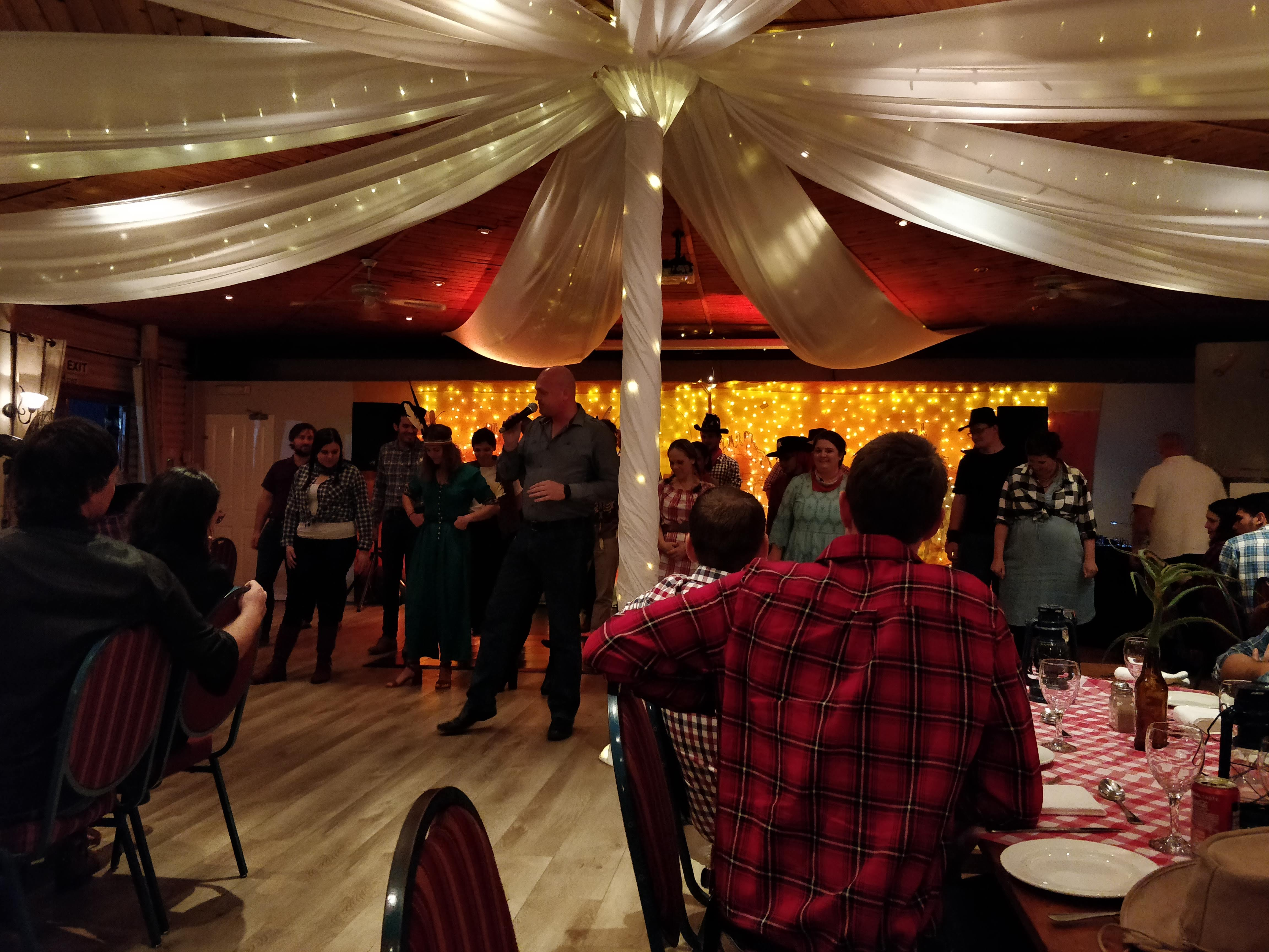 Wild West Year End Party