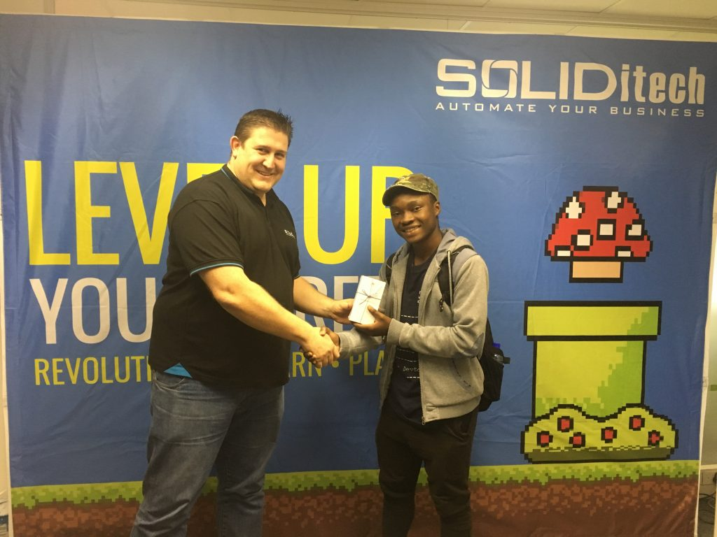 SOLIDitech at the UCT #breaktherules Event - April 2019