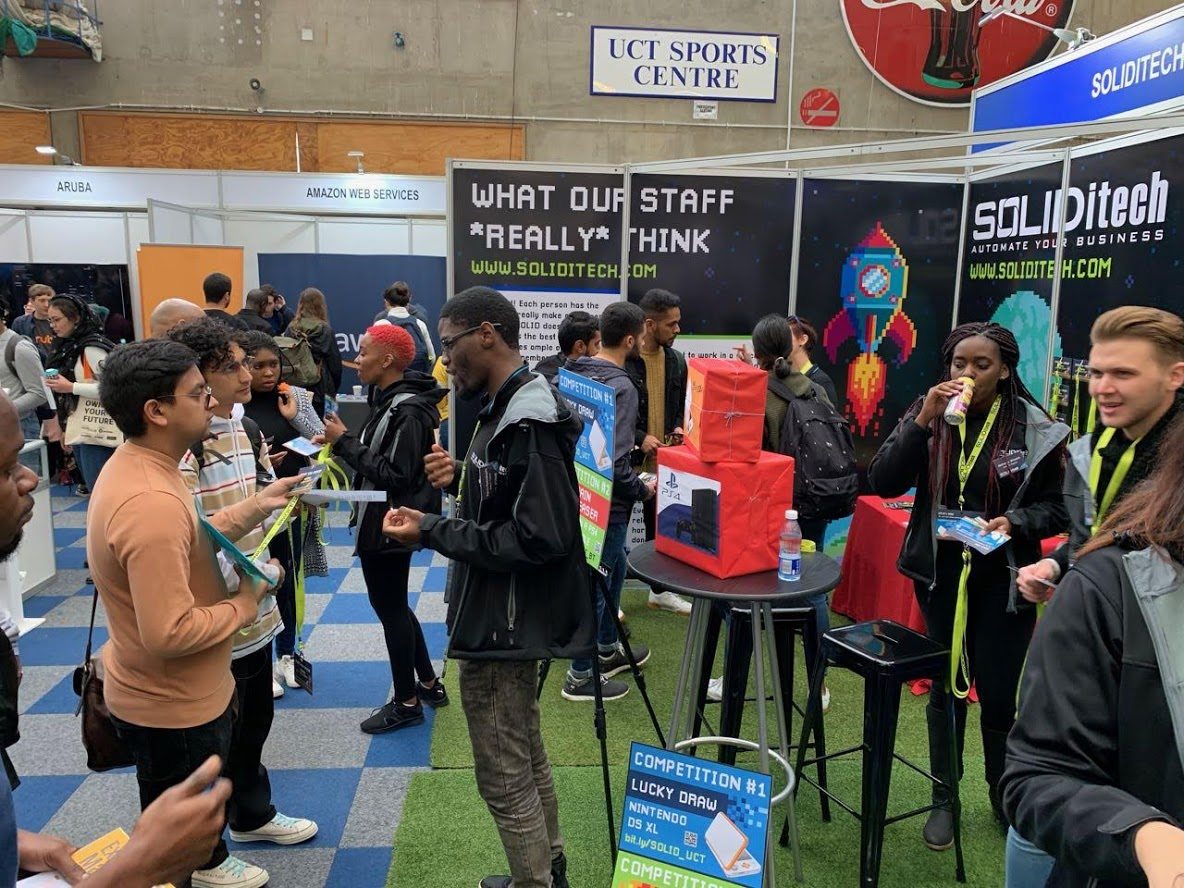 SOLIDitech at the 2019 UCT Career Day