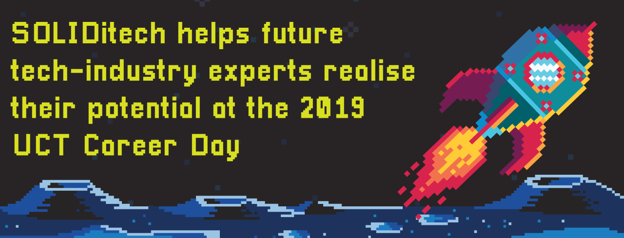 SOLIDitech helps future tech-industry experts realise their potential at the 2019 UCT Career Day